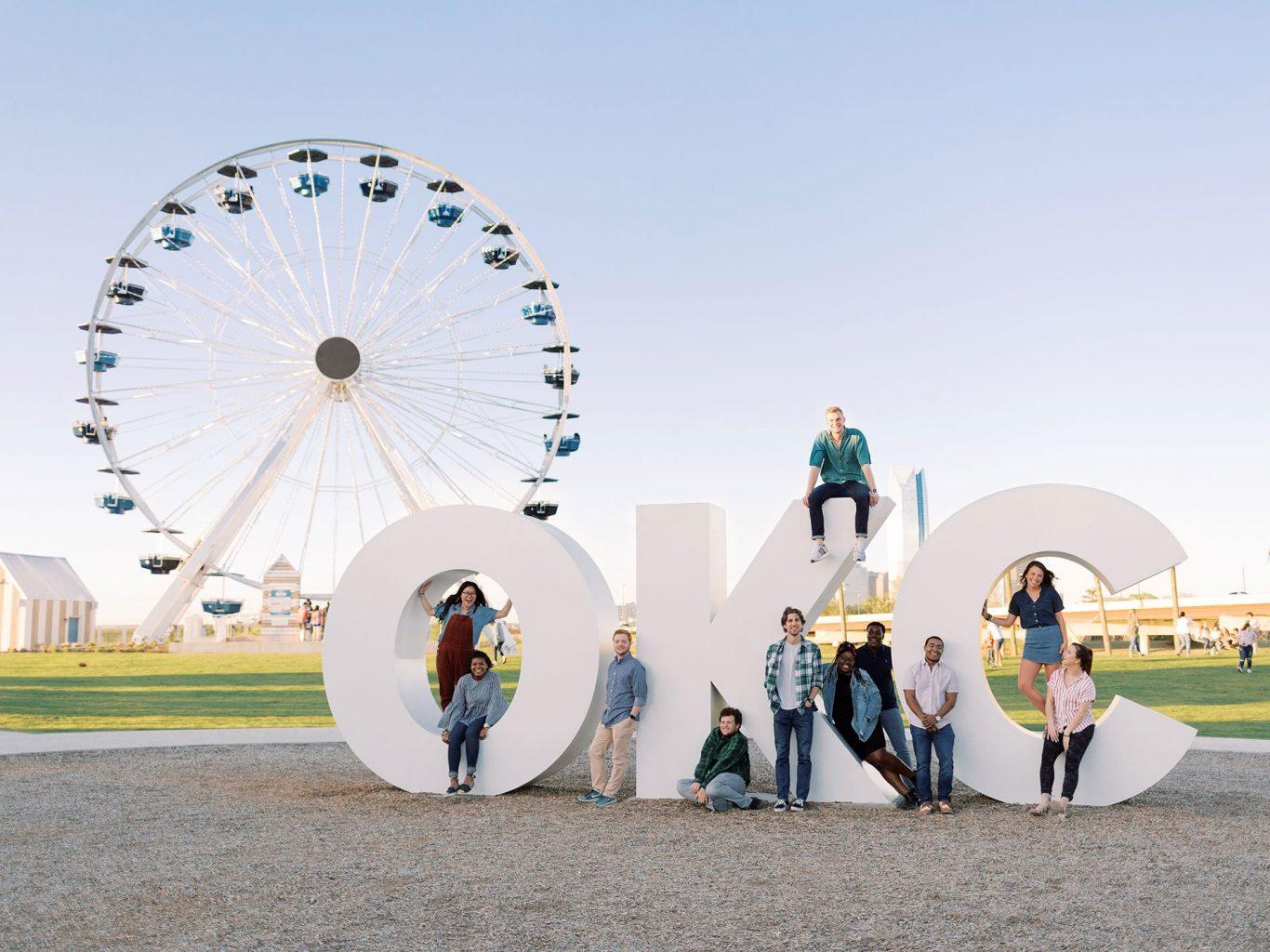 OC students in Oklahoma City