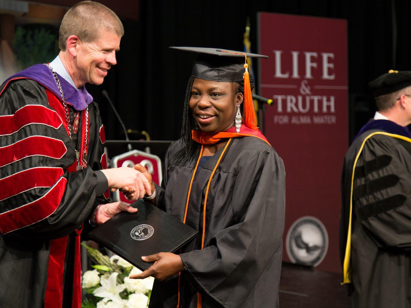 Student Graduating 2018