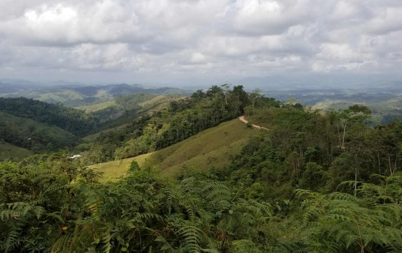 mountains of Honduras