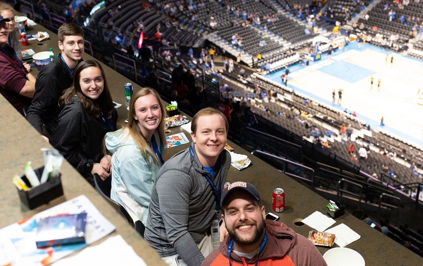 OC students at OKC Thunder game