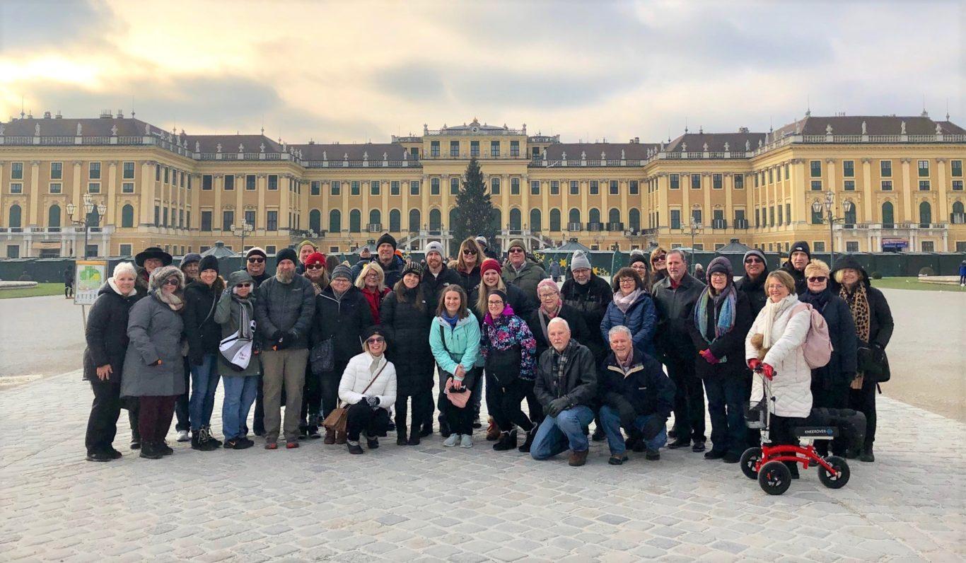 Alumni Tour Group Photo