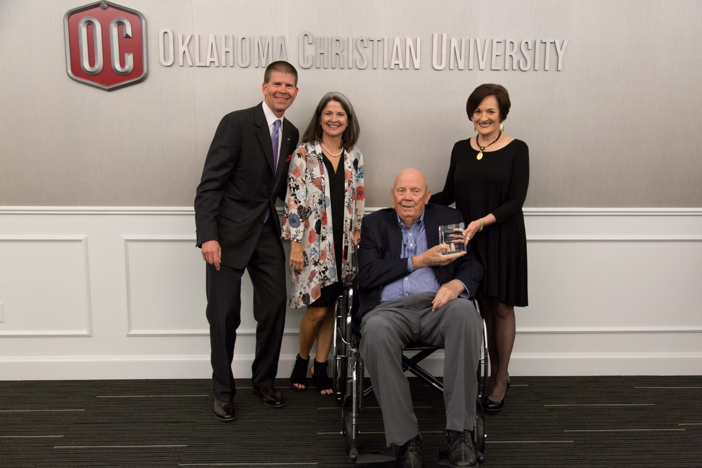 President John deSteiguer, Darla deSteiguer, Dave Smith and Linda Smith