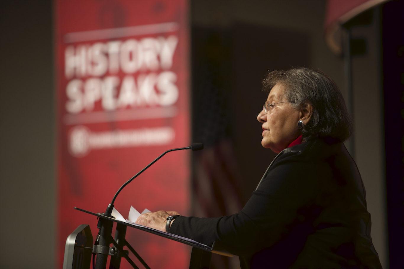 Diane Nash History Speaks 2017