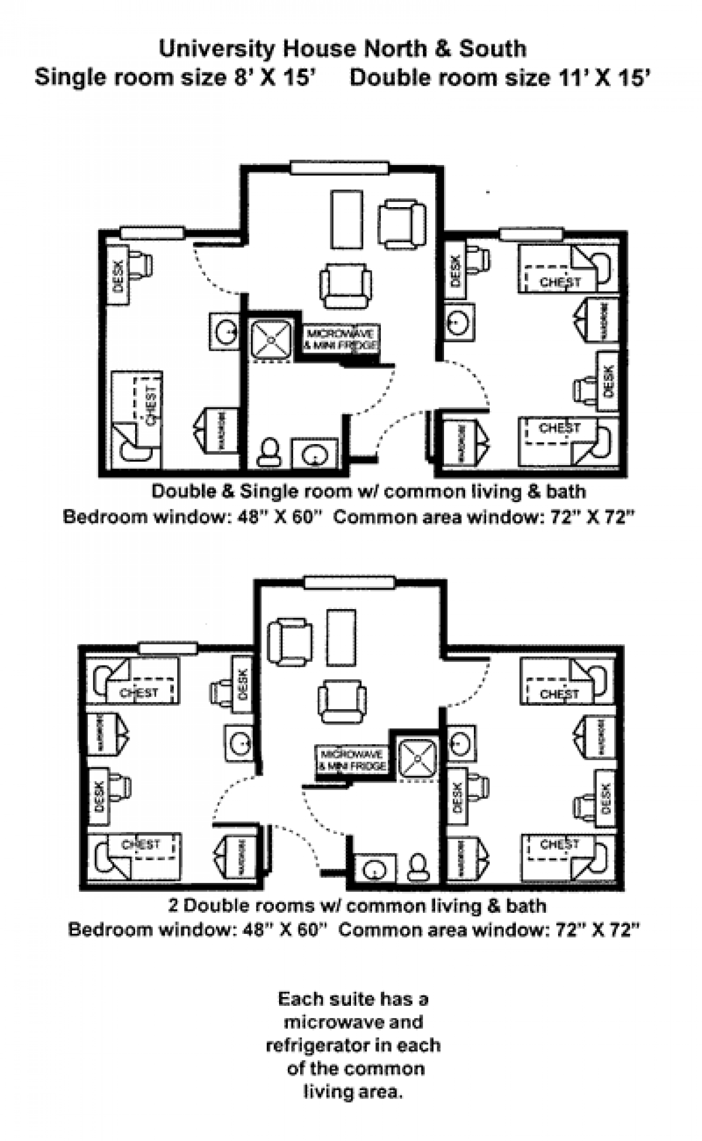 U House floorplan
