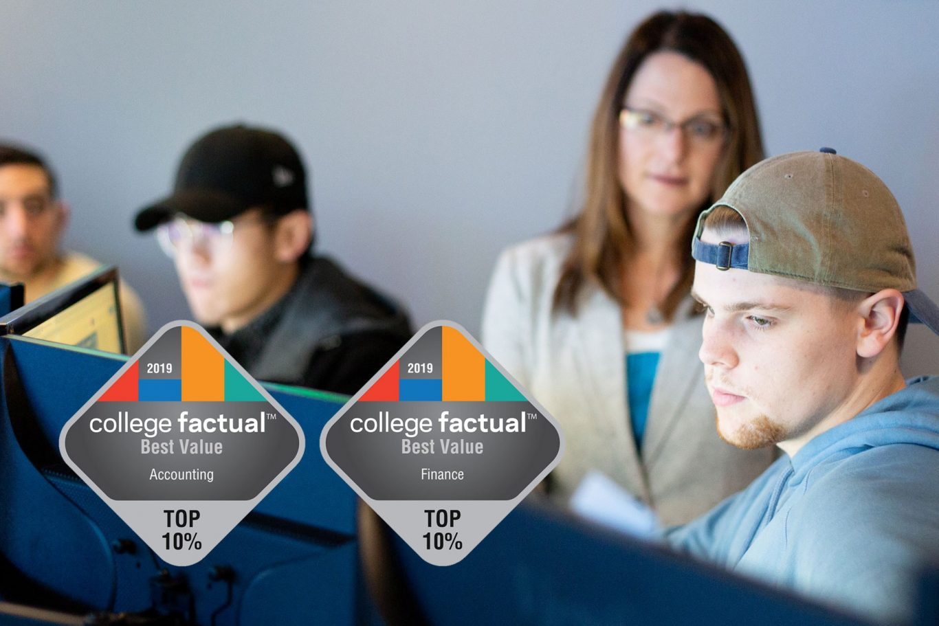 College factual badges
