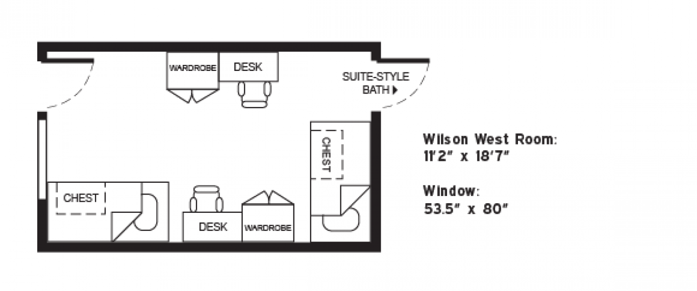 Wilson west floorplan