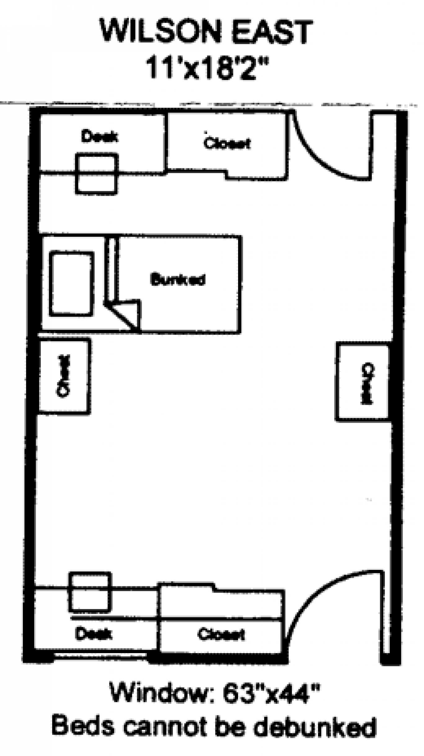 Wilson East floorplan