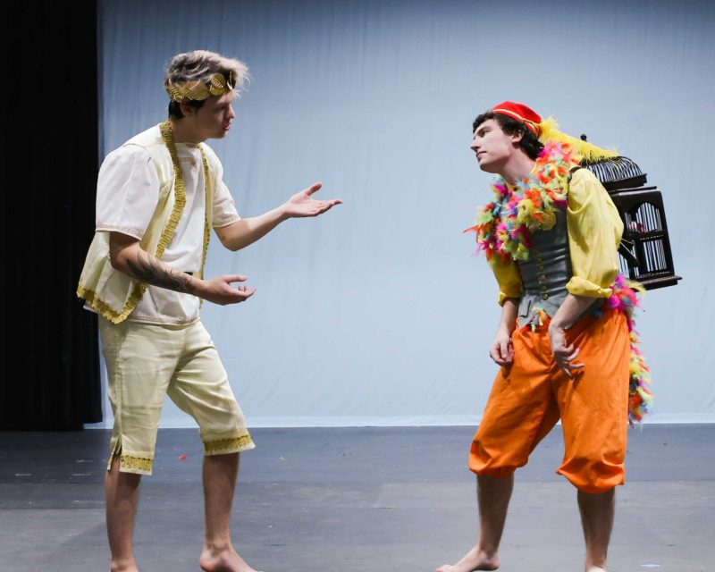 The Magic Flute With Nicholas Rogers L and Ethan White R