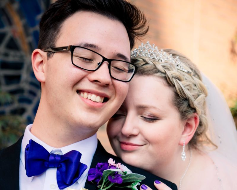 Jeremy and Hannah Parker Wedding Photo