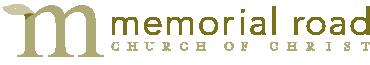 Memorial Road Church of Christ logo